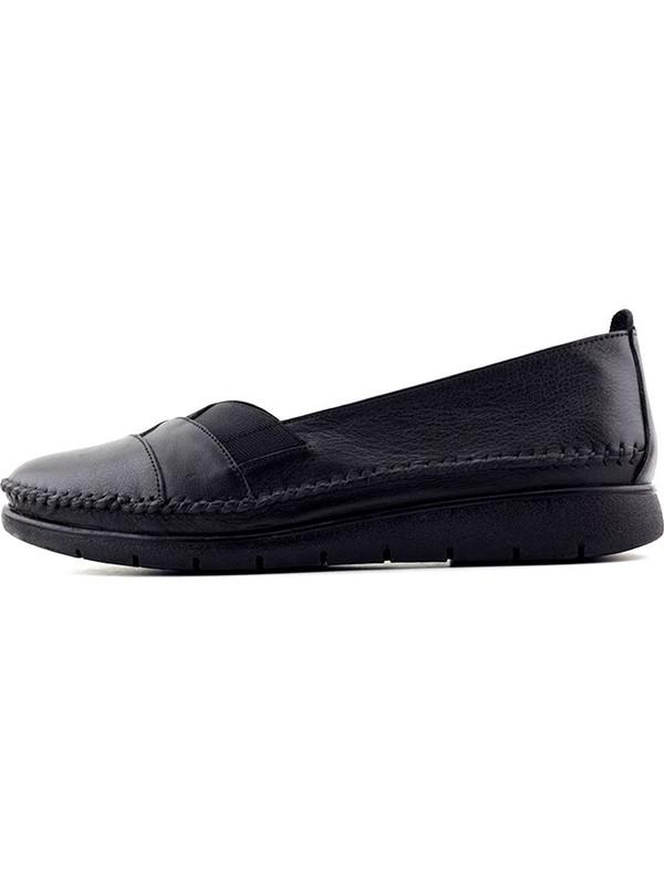 Evida 2645 Hakiki Deri Kadın Ayakkabı