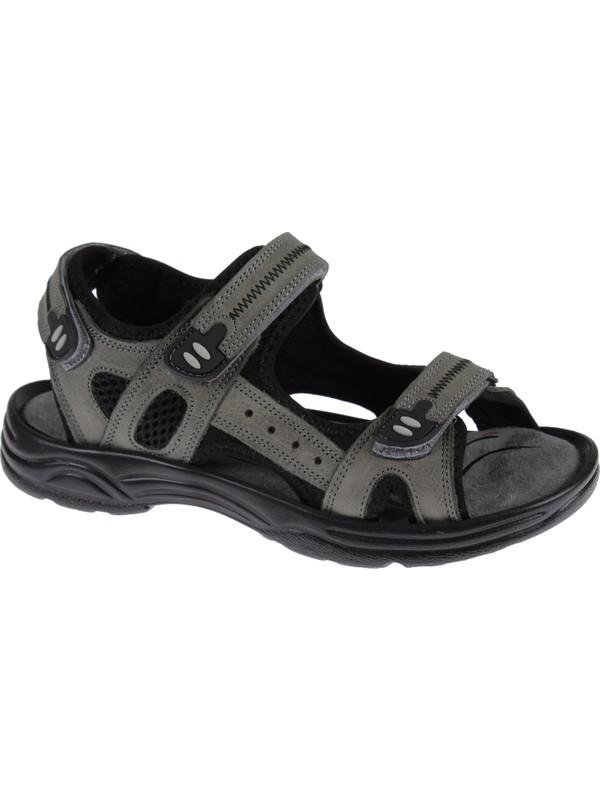 Hammer Jack Deri Kadın Sandalet 1617 Gri