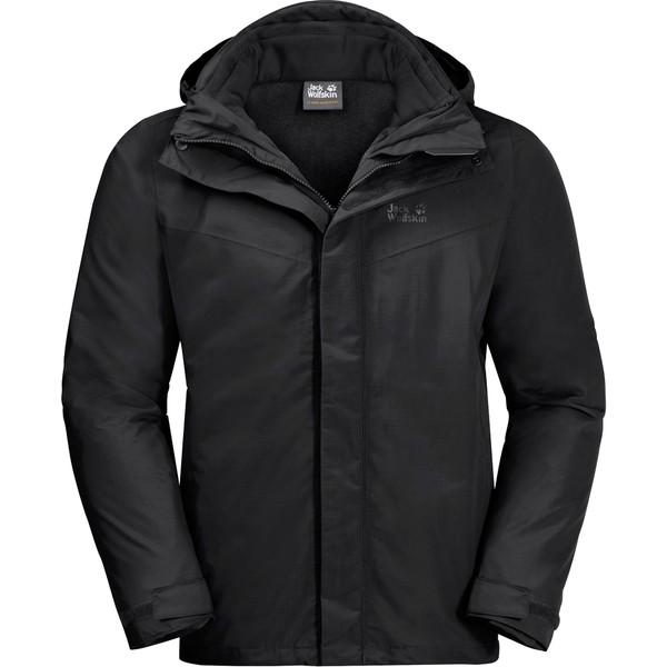 online retailer 5db84 d10be Jack Wolfskin Gotland 3'İn1 Erkek Mont Erkek - XL - Siyah
