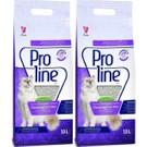 Pro Line Lavanta Kokulu Topaklaşan Kedi Kumu 10 Lt (2 Adet)