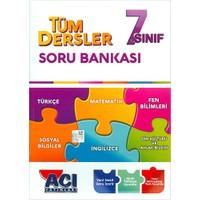 7.Sınıf Tüm Dersler Soru Bankası Açı Yayınları