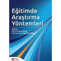 Eğitimde Araştırma Yöntemleri - Murat Demirbaş