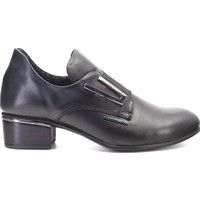 Mammamia D19KA-285 Kadın Deri Topuklu Ayakkabı Siyah