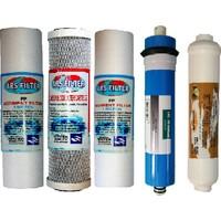 Su Arıtma 5'li Filtre Set Sed Cto Membran Tadlandırıcı