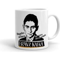 2k Dizayn Franz Kafka Tasarım Seramik Kupa Bardak