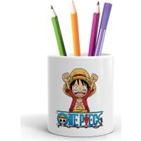 2K Dizayn One Piece Tasarım Seramik Kalemlik