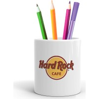 2K Dizayn Hard Rock Cafe Tasarım Seramik Kalemlik