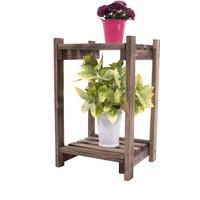 Woodensa Saksılık Çiçeklik Ahşap Saksı Standı