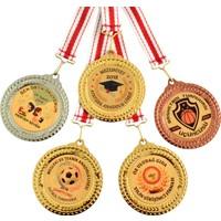 Hazar Spor Madalya Kişiye Özel Dijital Baskılı Altın (7 cm)