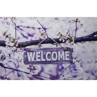 Myfloor Welcome Yazılı Kauçuk Kapı Önü Paspası