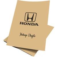 Baskı Life Kişiye Özel Baskılı Honda Oto Paspas Kağıdı 43 x 31 cm 100 Adet
