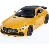 Welly 1:34 Mercedes Amg Gt-R Diecast Model Araba -Sarı