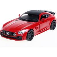 Welly 1:34 Mercedes Amg Gt-R Diecast Model Araba -Kırmızı