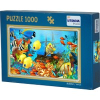 İstanbul Puzzle Balıklar Temalı 1000 Parça Puzzle