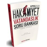 Benim Hocam Yayınları 2020 KPSS Hakimiyet Vatandaşlık Tamamı Çözümlü Soru Bankası