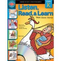 Lısten Read Learn Grade K - School Specialty