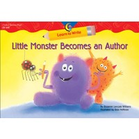Little Monster Becomes An Author, Learn To Wrıte L