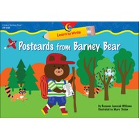 Postcards From Barney Bear Lap Book
