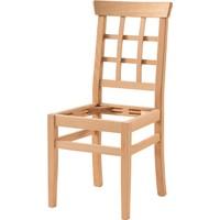 Obuts Home 688 Petek Döşemeli Sandalye Cilasız Ahşap Ham