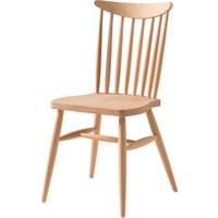 Obuts Home 699 Yıldız Sandalye Cilasız Ahşap Ham