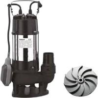 Duffmart V450F-B Pis Su Foseptik Parçalayıcılı Açık Fanlı Dalgıç Pompa