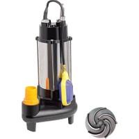 Duffmart V750F-B Pis Su Foseptik Parçalayıcılı Açık Fanlı Dalgıç Pompa