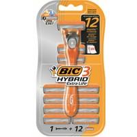 BIC Hybrid Extra Life Tıraş Bıçağı - 12 Aylık Paket
