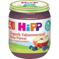 Hipp Organik Yaban Mersinli Elma Püresi 125 g