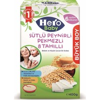 Hero Baby Sütlü Peynirli Pekmezli 8 Tahıllı 400 g