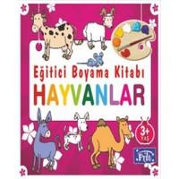 Egitici Boyama Kitabi Hayvanlar Kolektif Fiyati