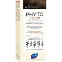 Phyto Phytocolor Bitkisel Saç Boyası 6.77 Cappuccino Kahve