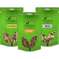 Naturali Kış Paketi; Çiçek Ihlamur 50 gr , Kış Keyfi Çayı 100 gr , Adaçayı 50 gr