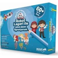 Robot Lagari ile Adım Adım Öğreniyorum - Okul Öncesi Eğitim Seti 60 Ay ve Üstü