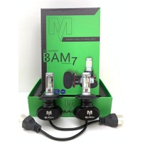 Appcity Mach Bam-7 Profesyonel LED Xenon H7 -(9800LM)