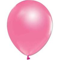 Kidspartim Metalik Pembe Balon 12 Inc