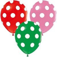 Kidspartim Karişik Puantiyeli Balon