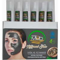 Naturmud Face ( Yüz Maskesi ) Organik Sağlık Peloid Çamuru 25 Ml, 6 Adet 1