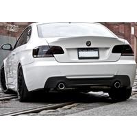 Güneşli Garaj BMW E92 2007 - 2012 M Performance Difüzör (Plastik)