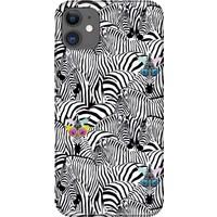 Svart Case Apple ıPhone 11 Zebralar Silikon Telefon Kılıfı
