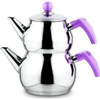 Remetta Lumino Aşiret Küre Çelik Çaydanlık