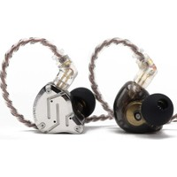 Kz ZS10 Pro 4ba + 1dd Hibrit Kulaklık - Siyah