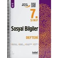 7. Sınıf Sosyal Bilgiler Ders Defteri - Ortaokul - İsabet Yayınları
