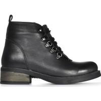 Vizon Ayakkabı Kadın Siyah Bot VZN19-055K