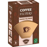 Coffee Filters Filtre Kahve Kağıdı No:4 100'lü Paket