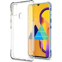 Ssmobil Samsung Galaxy M30s Silikon Kılıf SS-31350 Şeffaf