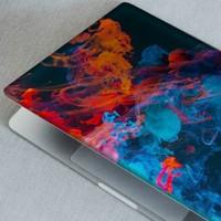 Artikel Soyut Renkli Dumanlar Notebook Sticker