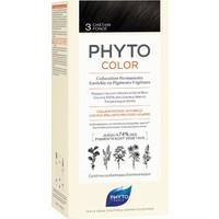 Phyto Phytocolor Bitkisel Saç Boyası - 3 Koyu Kestane