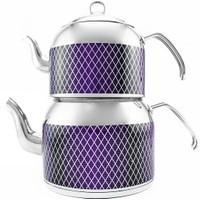 Remetta Tappeto Plus Aşiret Boy Çaydanlık Mor