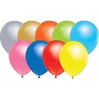 Tuğra Metalik Balon 25 Adet Karışık Renkli