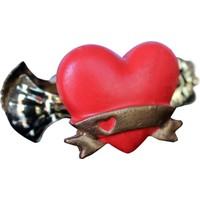 Gardinia Perde Tokası Kalp 4'lü Paket - Dekoratif Perde Mandalı
